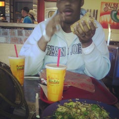 Photo taken at Izzo's Illegal Burrito by Ashley M. on 11/16/2012