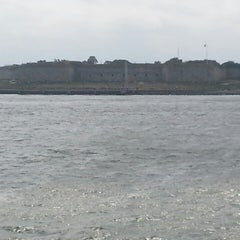 Photo taken at Fort Independence by Adrienne on 8/31/2014
