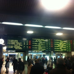 Photo taken at Gare de Bruxelles-Midi / Station Brussel-Zuid by gilles N. on 1/29/2013