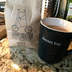 Photo taken at Lamplighter Roasting Co. by Lindsey B. on 3/22/2013