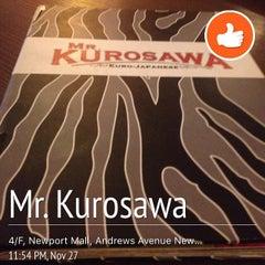 Photo taken at Mr. Kurosawa by Reina Edenlyne G. on 12/13/2015