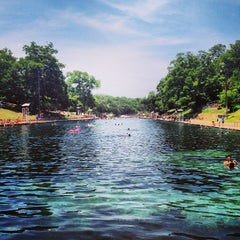Photo taken at Barton Springs Pool by Andrew C. on 7/26/2013