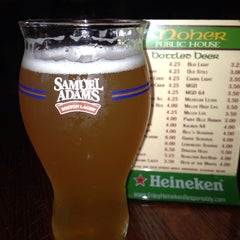 Photo taken at Moher Public House by Nancy V. on 8/19/2013