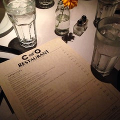 Photo taken at C & O Restaurant by Emily A. on 10/4/2014