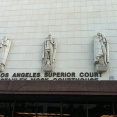 Photo taken at Los Angeles Superior Stanley Mosk Courthouse by Tom C. on 1/14/2013