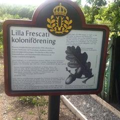 Photo taken at Lilla Frescati Koloniområde by Matt W. on 5/30/2013