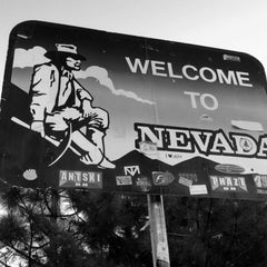 Photo taken at Welcome To Nevada! by Areej A. on 6/14/2014