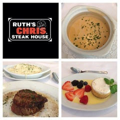 Photo taken at Ruth's Chris Steak House by Esteicy on 8/16/2013