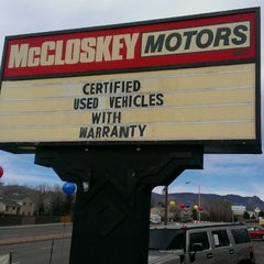 Photo taken at McCloskey Truck Town by Mike P. on 4/6/2013