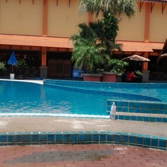 Photo taken at Demong Beach Resort by Shida S. on 8/16/2014