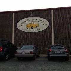 Photo taken at Good People Brewing by Leil K. on 11/16/2012