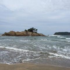 Photo taken at 浦富海岸 by Kryształ on 8/24/2015
