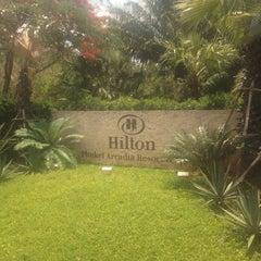 Photo taken at Hilton Phuket Arcadia Resort & Spa by Kirill on 3/25/2013