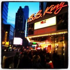 Photo taken at B.B. King Blues Club & Grill by st_math on 3/16/2013