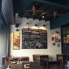 Photo taken at Zeplin Pub & Delicatessen by Fóursquare Türkiye on 5/5/2013