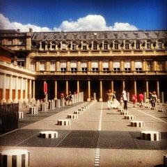 Photo taken at Palais Royal by Mani B. on 8/3/2013