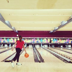 Photo taken at Bowl-A-Roll Lanes by Amy E. on 1/13/2013