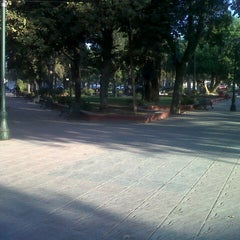 Photo taken at Plaza de Armas de Buin by Javiera M. on 4/16/2013
