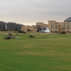 Photo taken at The Old Course St Andrews by Martyn B. on 1/5/2013