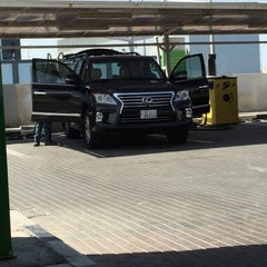 Photo taken at Oula Gas Station & Wash by Hamad A. on 6/27/2015