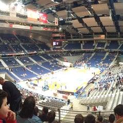 Photo taken at Barclaycard Center - Palacio de Deportes de la Comunidad de Madrid by eldelpoloverde on 1/27/2013