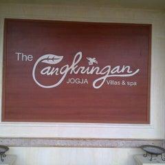 Photo taken at The Cangkringan Jogja Villas & Spa by Chavie I. on 8/14/2013