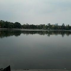 Photo taken at Kampung betawi situ babakan by Nurull Y. on 4/9/2013