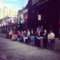 Photo taken at TKTS South Street Seaport by Ariel S. on 9/21/2013