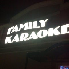 Photo taken at Family Karaoke by Aaron B. on 12/9/2012