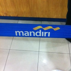 Photo taken at Bank mandiri Klandasan by ary e. on 2/13/2013