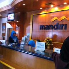 Photo taken at Bank mandiri Klandasan by ary e. on 2/20/2013