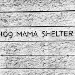 Photo taken at Mama Shelter by Olivier C. on 9/20/2013