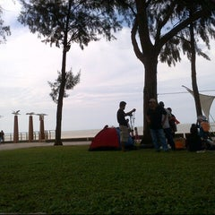 Photo taken at Pantai Morib by asd d. on 12/9/2012