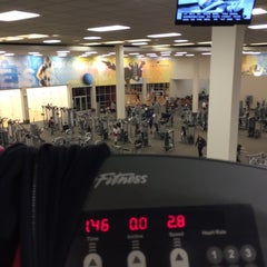 Photo taken at LA Fitness by Erica S. on 10/22/2014