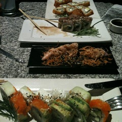 Photo taken at Sushi Roll by Nay R. on 2/7/2013