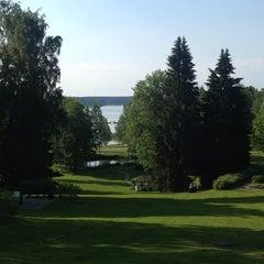 Photo taken at Hotel Haikko Manor Porvoo by Marije on 6/5/2013