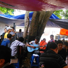 Photo taken at Segitiga Erlangga Food Court by Nana D. on 1/1/2015