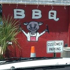 Photo taken at Smokin' J's Real Texas BBQ by Patrick M. on 4/11/2014
