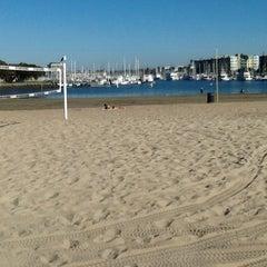 Photo taken at Marina Del Rey pier by Svetlana L. on 10/21/2012