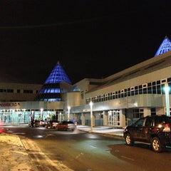Photo taken at Международный аэропорт Ханты-Мансийск / Khanty-Mansiysk International Airport (HMA) by Денис on 10/24/2012