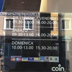 Photo taken at Coin Rimini by Oksy M. on 9/16/2012
