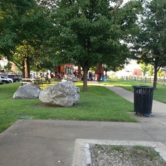 Photo taken at Downtown Rogers by Vicky H. on 8/17/2013