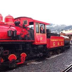 Photo taken at Estación de Tren Chimbacalle by Ivana P. on 2/11/2013
