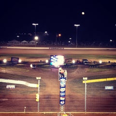 Photo taken at The Dirt Track at Charlotte Motor Speedway by Dave D. on 11/2/2012