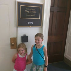 Photo taken at Rayburn House Office Building by Sam H. on 6/25/2015