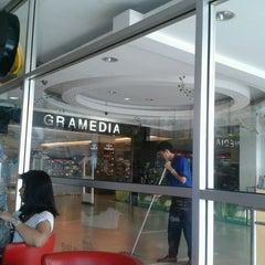 Photo taken at Gramedia by Luna T. on 4/30/2013