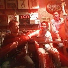 Photo taken at Adhere the 13th Blues Bar by Patchara K. on 7/16/2014