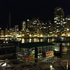 Photo taken at Aquabus Granville Island Dock by Patchara K. on 4/15/2013