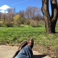 Photo taken at Highland Park Lilacs by Matthew R. on 4/27/2014