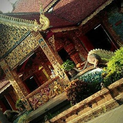 Photo taken at วัดชัยมงคล (Wat Chai Mongkol) by Renew A. on 11/3/2012